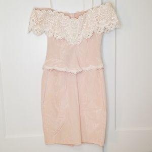 Scott McClintock Pretty in Pink 80s Prom Dress